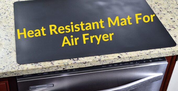 Heat Resistant Mat For Air Fryer