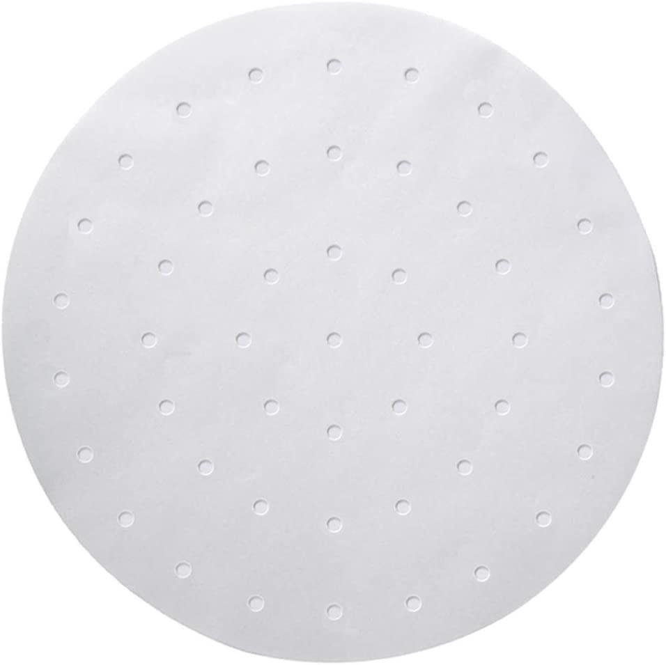 numola round white air fryer parchment paper