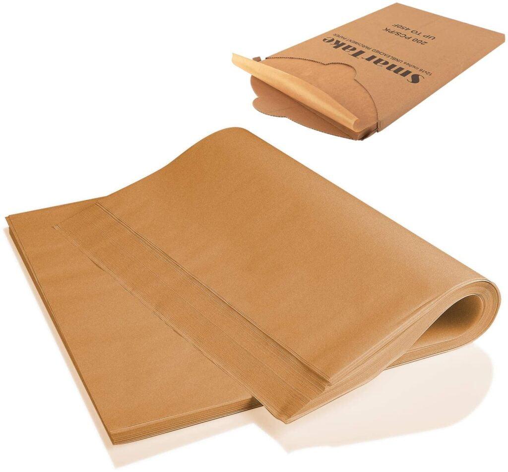 brown square smartrake air fryer parchment paper