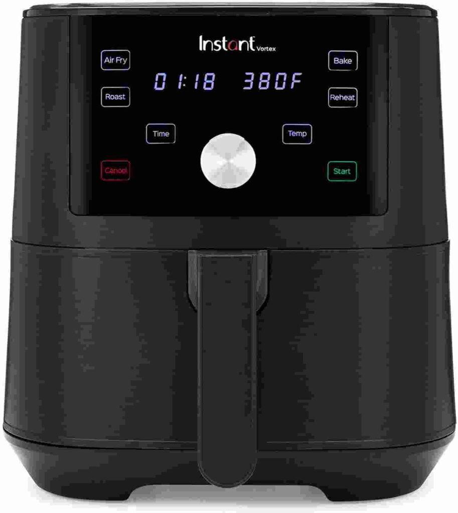 Instant vortex 6 QT best air fryer under $100