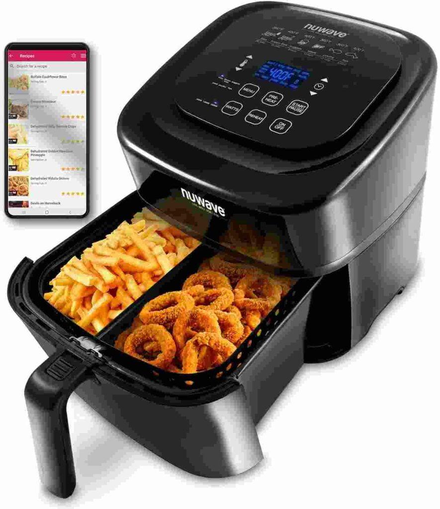 NUWAVE BRIO 6-Quart Digital Air Fryer under $100