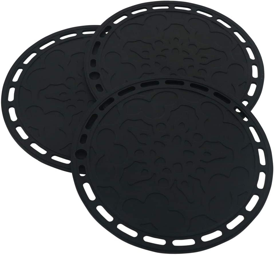 Smithcraft Big Round Silicone Heat Resistant Mat For Air Fryer
