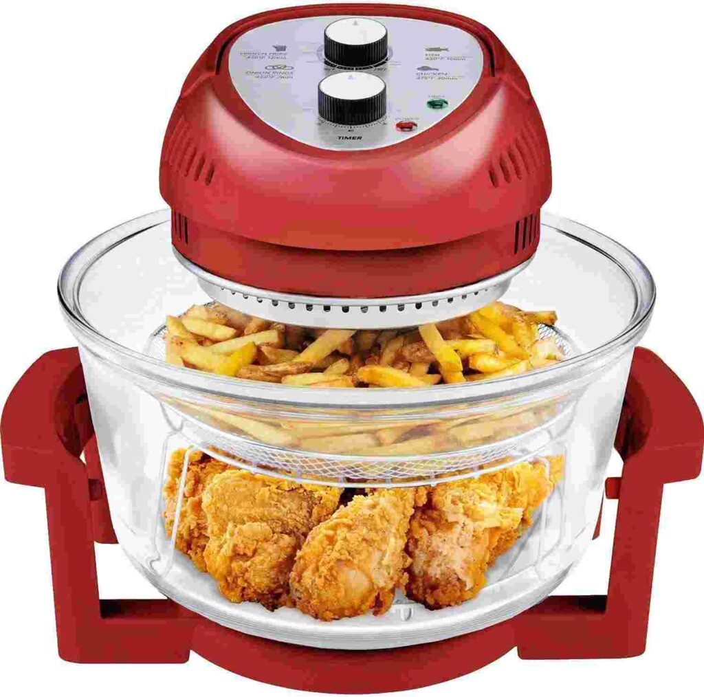 Big Boss Glass Air Fryer For Family Of 6