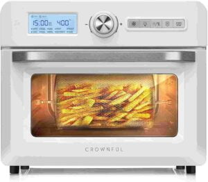 CROWNFUL 19 Quart with Rotisserie & Dehydrator