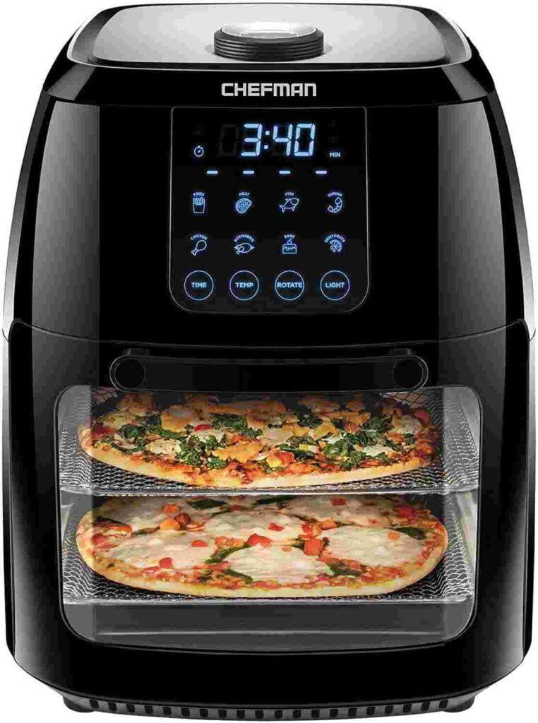 Chefman 6.3 Quart Digital Air Fryer With Dehydrator Feature