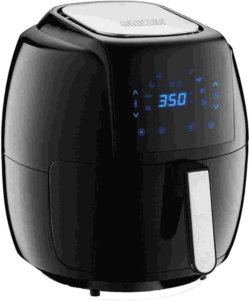 GoWISE USA 7 quart air fryer for a family of 6