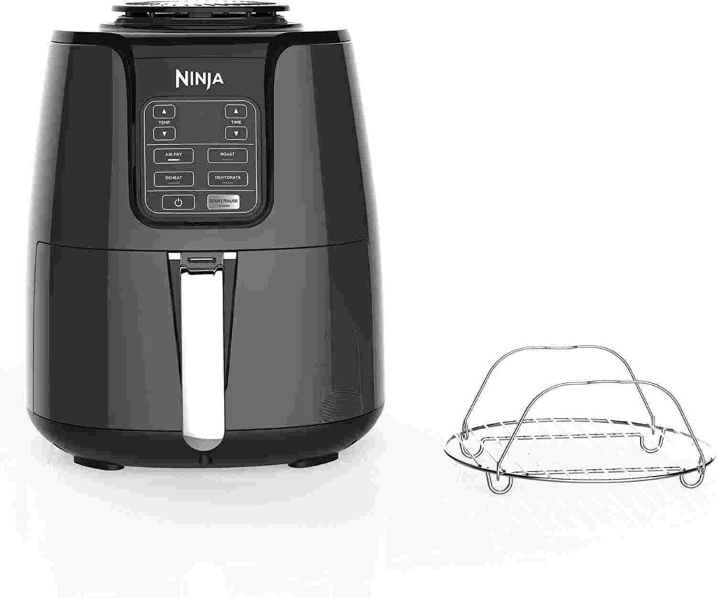 Ninja air fryer with dehydrate feature