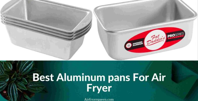 Best Aluminum pans For Air Fryer