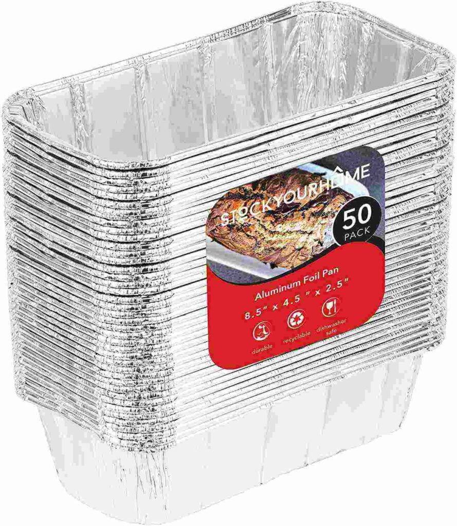 Disposable Aluminum Pans for Bread in Air fryer