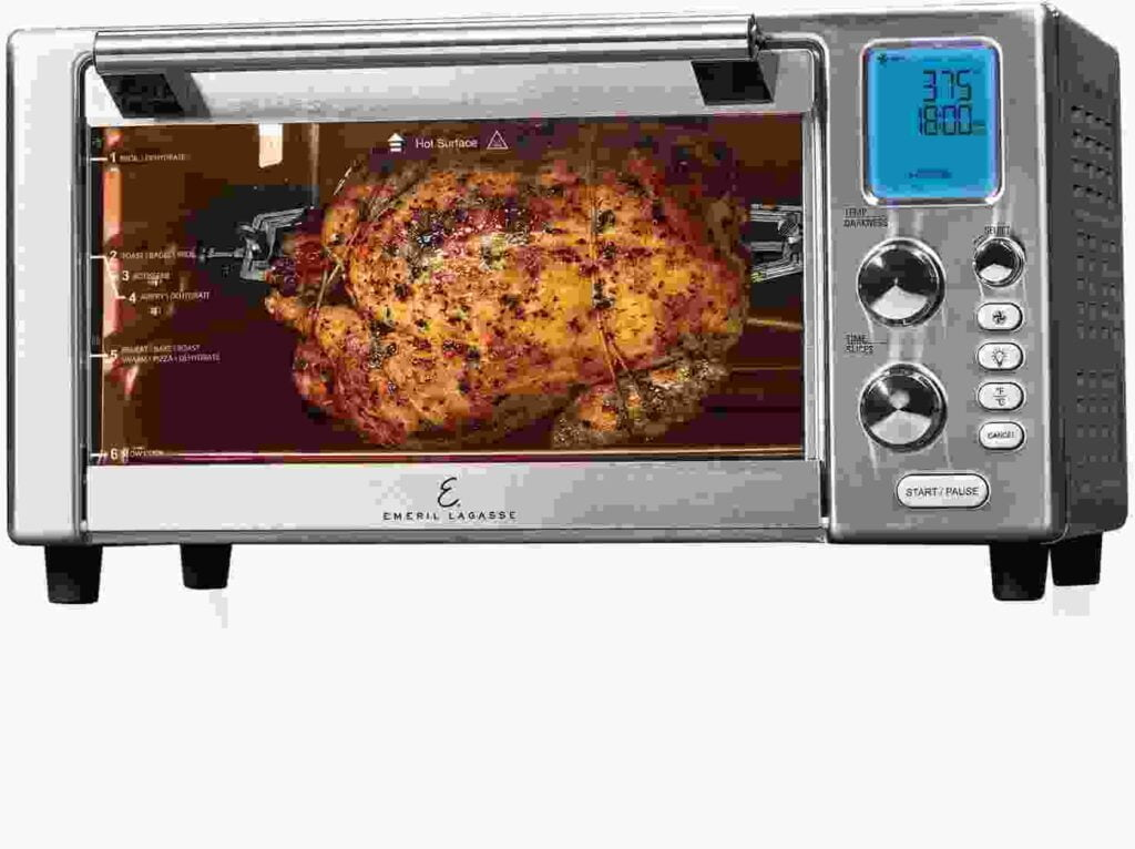 Emeril Everyday 360 Deluxe Air Fryer Oven for a family of 8