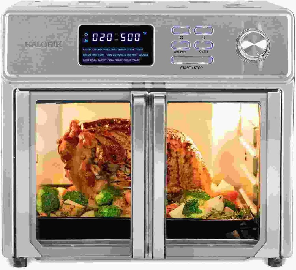 Kalorik 26 QT Digital Maxx Best Air Fryer Oven For A family of 8