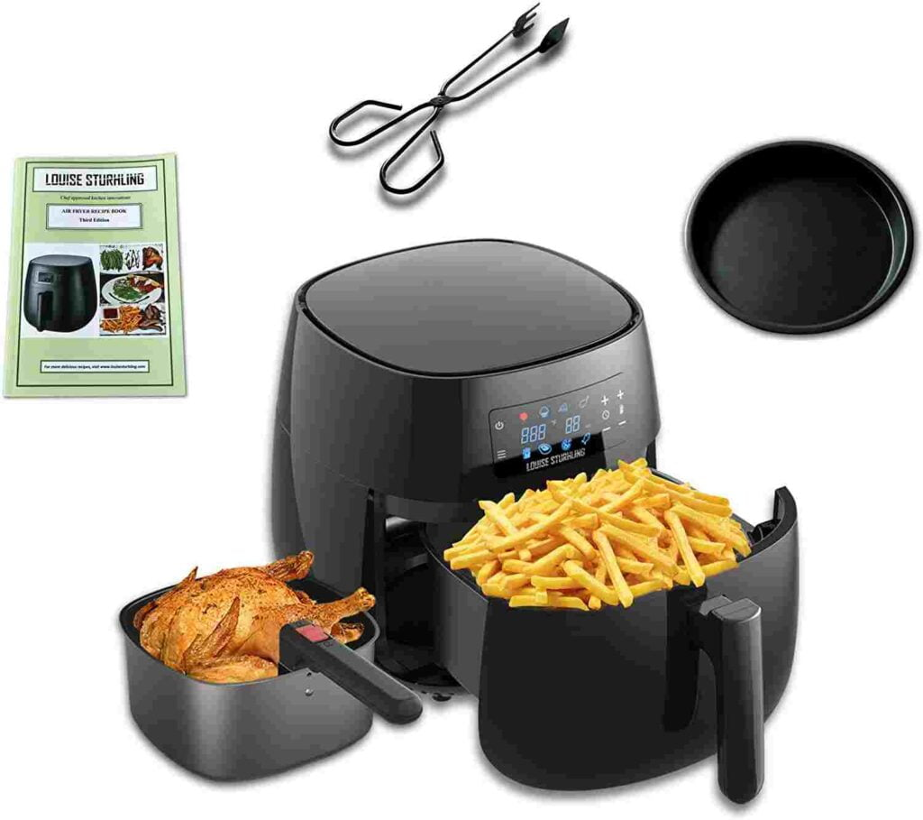 LOUISE STURHLING The Best Ceramic Air Fryer That Doesn't Peel