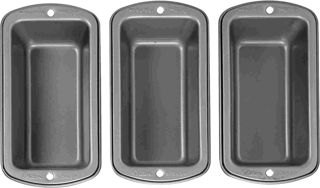 Wilton Steel Non-Stick Mini Loaf Pan For Air fryer