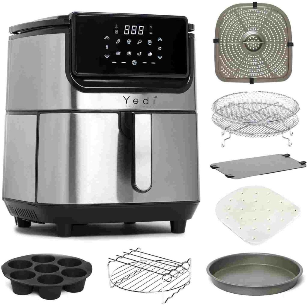 Yedi Evolution stainless steel ceramic coated Air Fryer