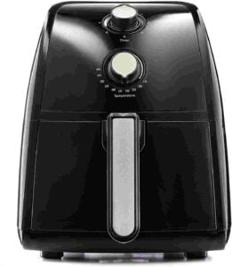 BELLA Electric Hot Air Fryer For Small Kitchen Countertop