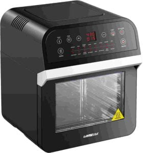 GoWise USA air fryer with see through window