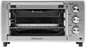 PowerXL Grill Air Fryer with glass window