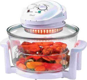 Rosewill Infrared glass air fryer with Stainless Steel Extender